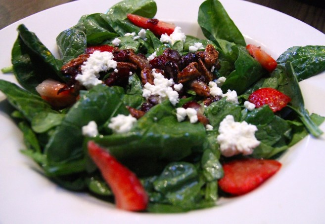 Keg Spinach Salad