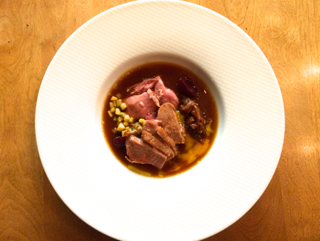 Duck in broth Little Grouse on the Prairie Saskatoon Jenn Smith Nelson
