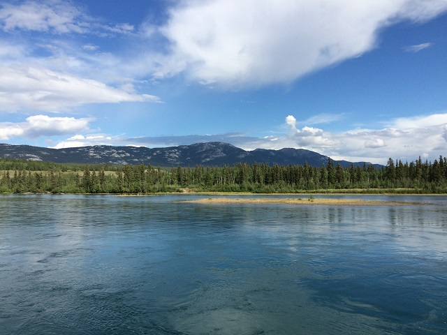 Whitehorse - view of the Yukon River