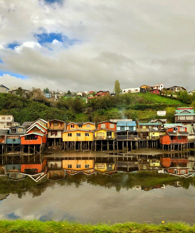 Tin stilt houses in Castro, Chile Jenn Smith Nelson