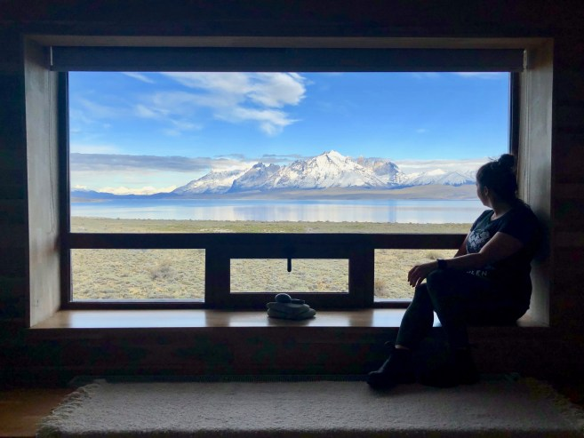 The view from my room in the incredible Tierra Patagonia, Chile Jenn Smith Nelson