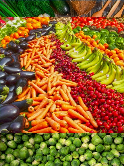 Green Colorful Veggies healthy food to eat for PCOS