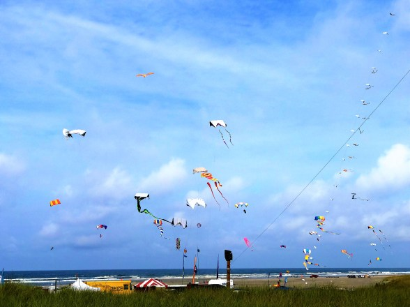 Washington State International Kite Festival, Long Beach , Washington , USA