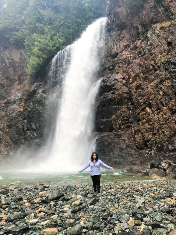 Franklin Falls Snoqualmie,Most Popular destination in Summer for locals in Seattle.