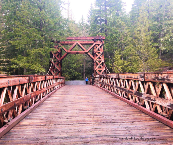 View of Rustic Style Bridge