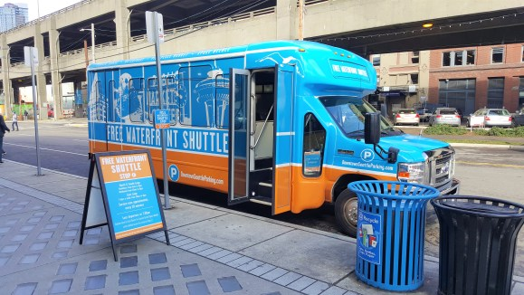 Free Waterfront Shuttle Must Visit  Attractions in Seattle, Washington