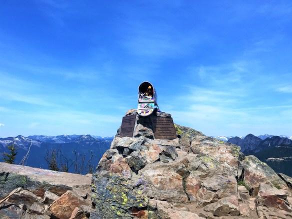 Hiking Mailbox Peak Seattle