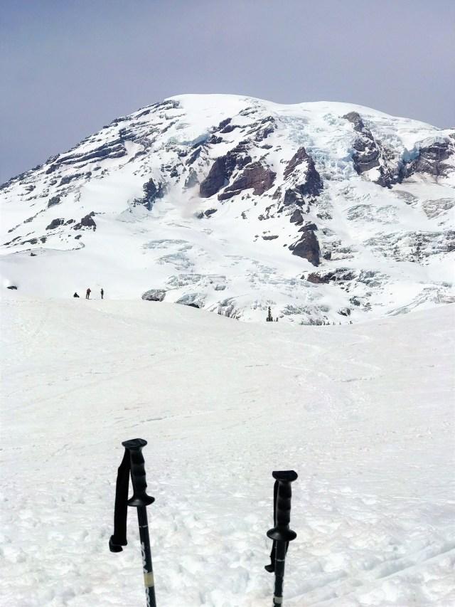 Majestic view of Mount Rainier