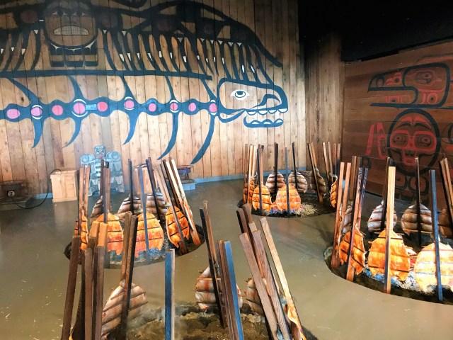 Native American Traditional Feast at Tillicum Village Blake Island
