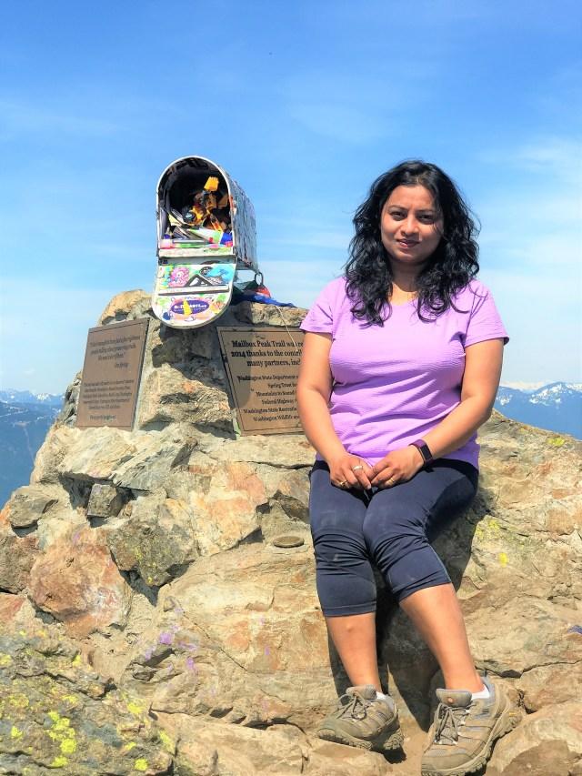 Myself at Mailbox peak