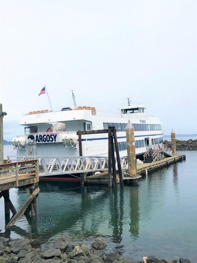 Argosy Cruise docked at Island