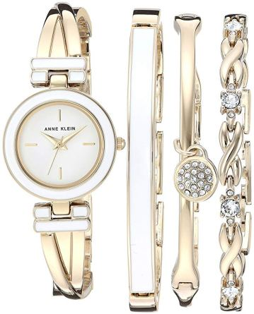 Mother's Day gift, watch and bangle set