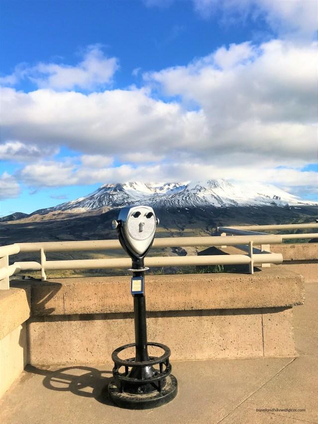 Johnston Ridge Observatory at Mount ST Helens