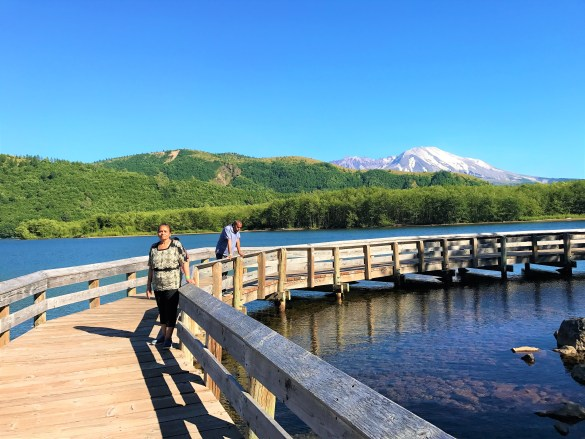 Cold Water Lake Recreation Area Mount St Helens