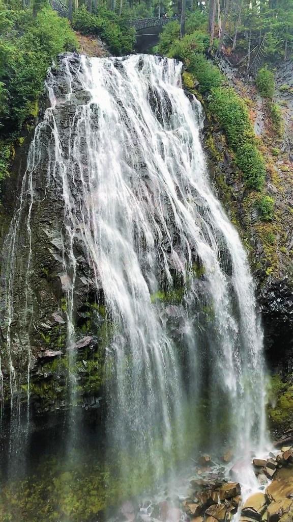 Narada Falls at Mount Rainier National Park