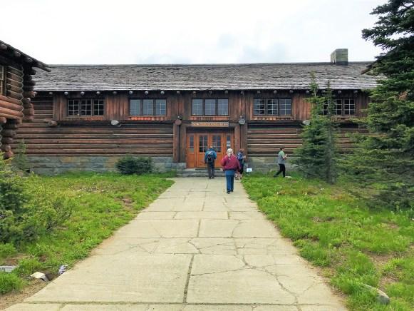 Sunrise Visitor Center at Mount Rainier National park