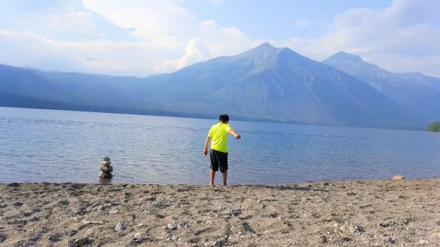 Lake McDonald Beach Glacier National Park
