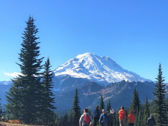 Naches Peak Loop Trail Mount Rainier