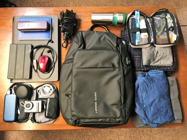 Clothes and Personal Accessories packing for Business Trip