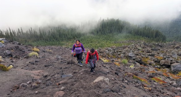 Mount St. Helens Summit Climb with Kid