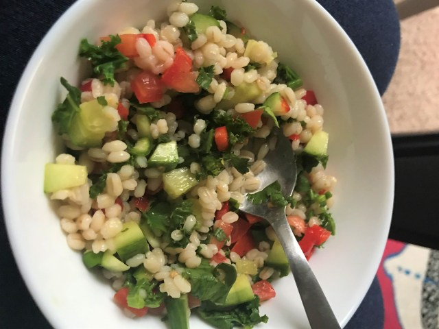 Pearl Barley Salad - Healthy Diet Plan for PCOS & Thyroid