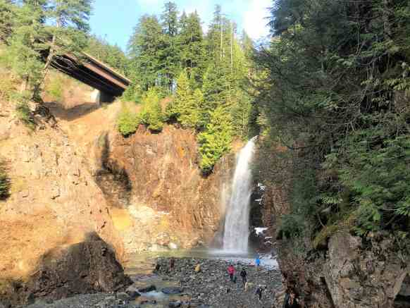 Franklin Falls trail -Best Hikes near Seattle
