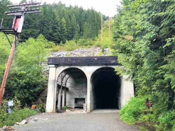 Rear End of Snoqualmie Tunnel - Best Hikes near Seattle