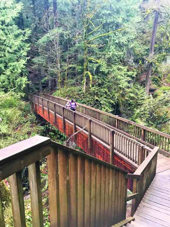 Wooden Bridge Over Twin Falls - Best Hikes near Seattle