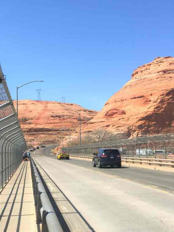 Walk On Glen Canyon Bridge