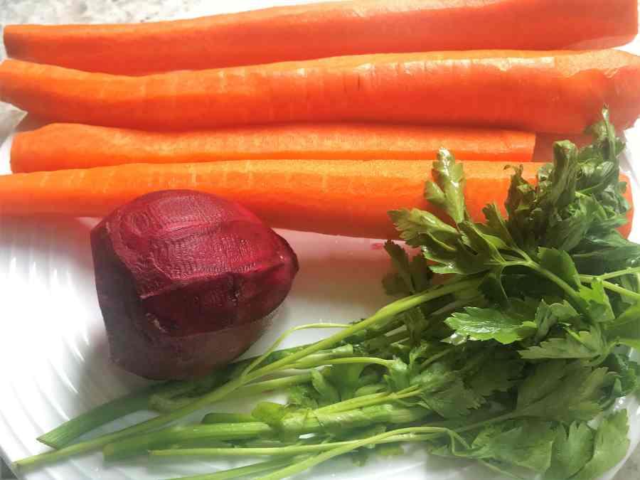 Detoxifying Carrot Beet Juice