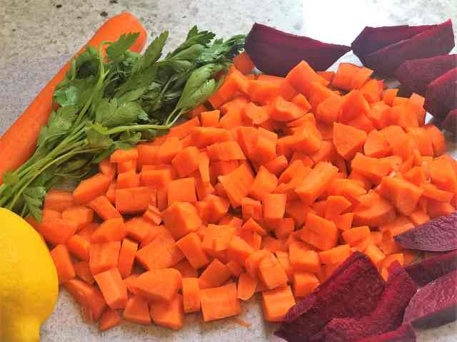 Detoxifying Carrot Beet Juice Recipe