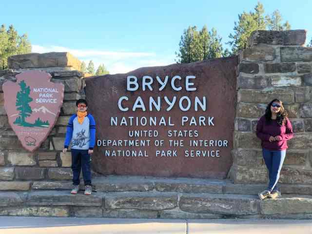 Bryce Canyon National Park - Historic Sign Board