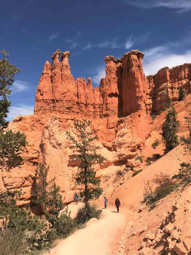 View of Fins and Pockets at Bryce Canyon National Park. Best Hikes in Bryce Canyon National Park