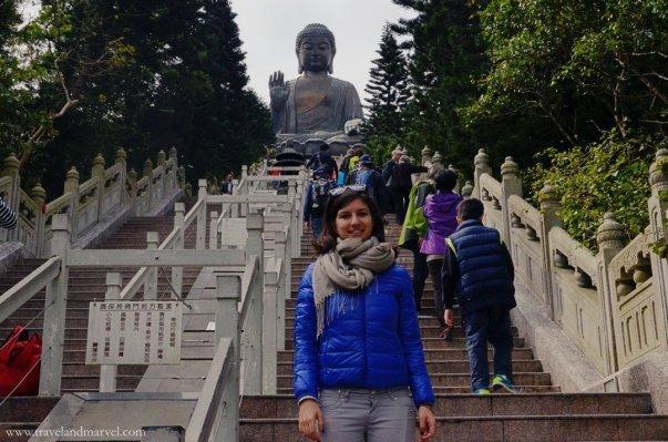 Visitare buddha Lantau