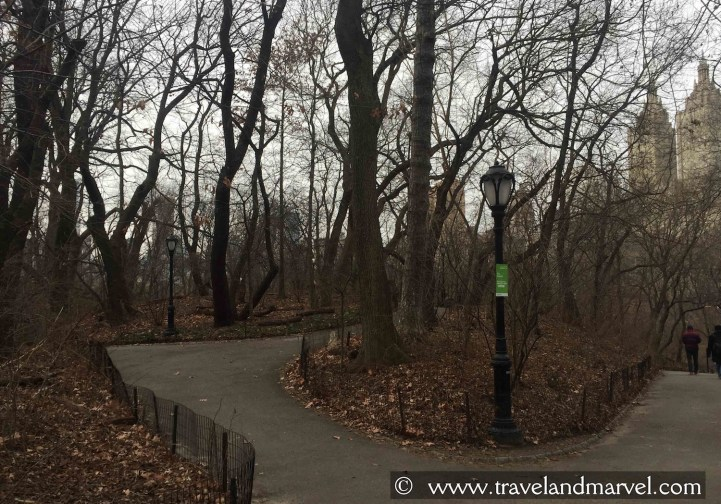 Central Park New York itinerario