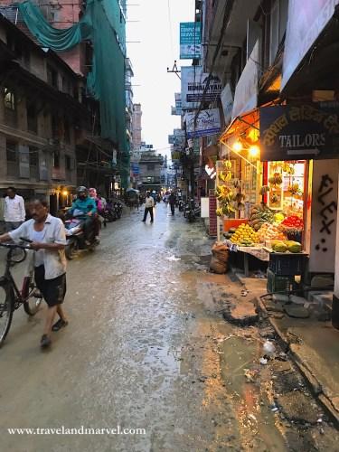 strade in Nepal Kathmandu