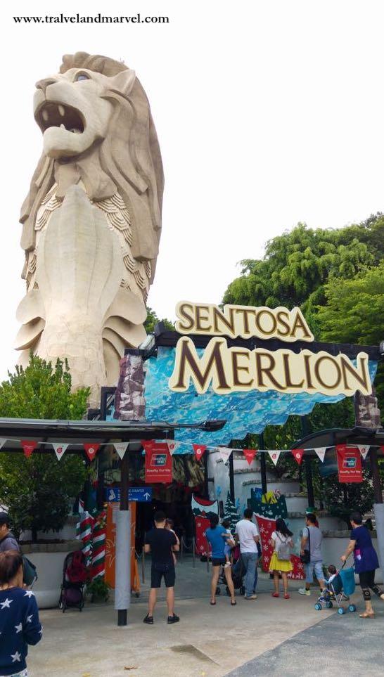 Merlion Sentosa singapore