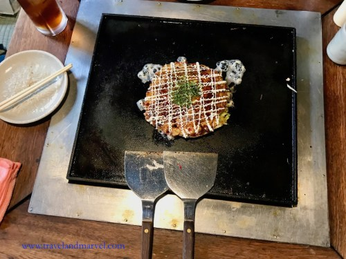 Mangiare in Giappone Okonomiaki