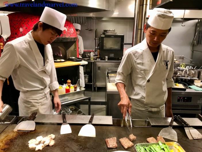 Mangiare in Giappone_teppanyaki