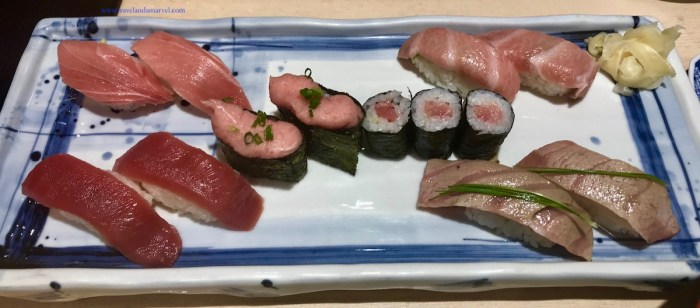 Sushi mangiare in Giappone