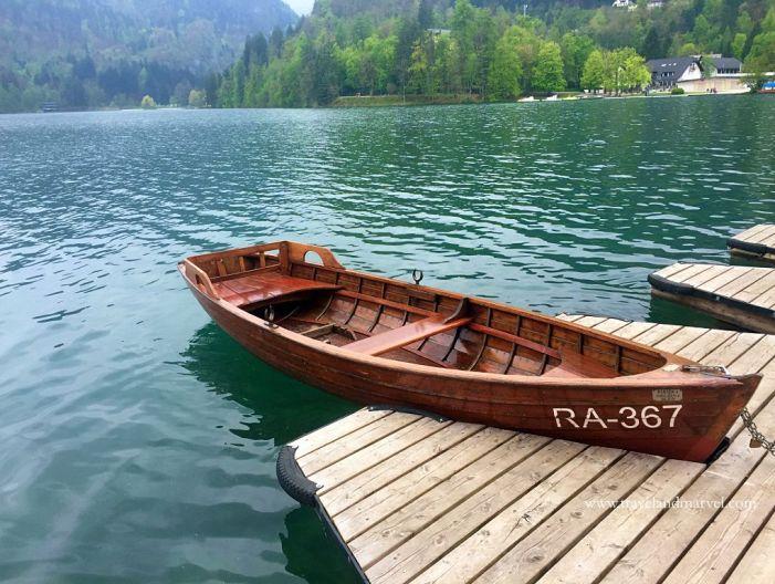 giro in barca del lago di Bled