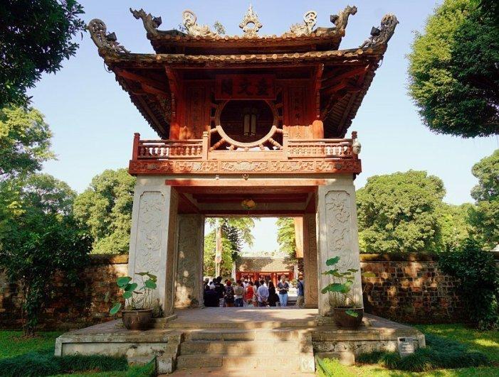 Cosa vedere ad Hanoi:tempio della letteratura