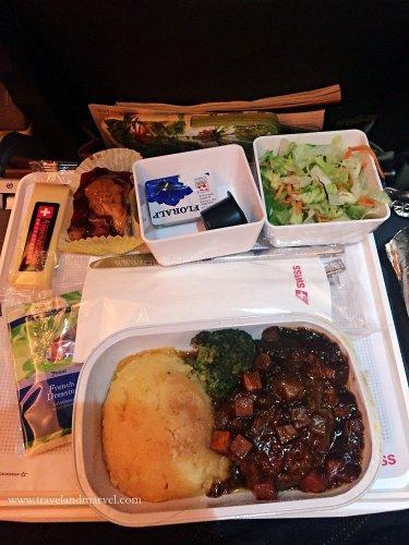Mangiare in aereo Swiss