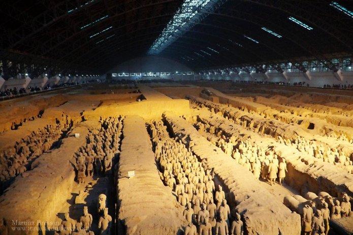 Fossa 1 Xian Esercito terracotta
