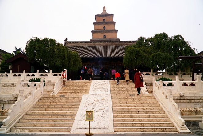 Grande Pagoda dell'Oca Xian