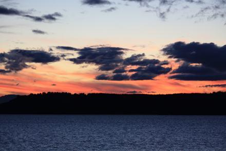 sunset-taupo NZ