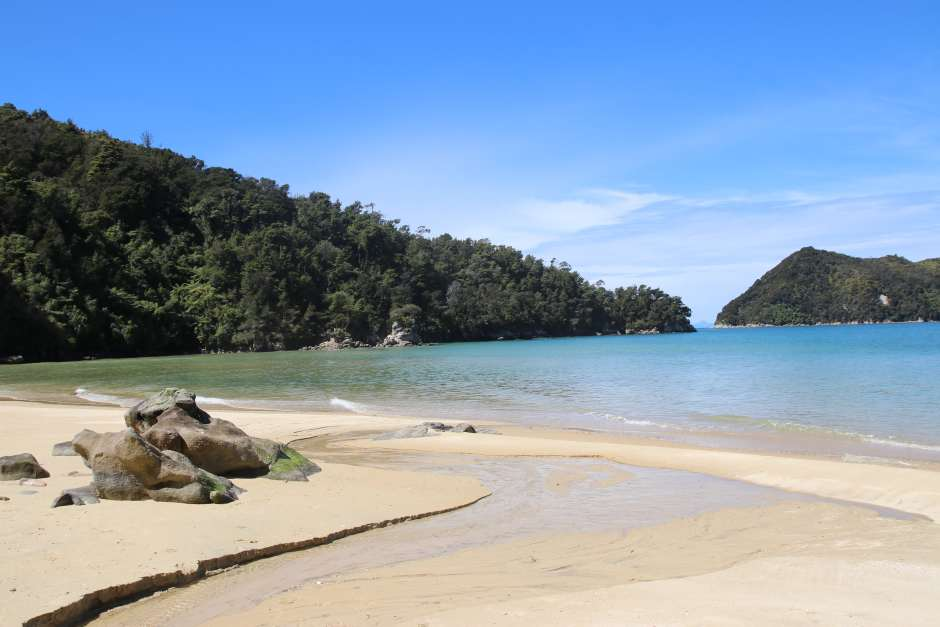 stillwell bay abel tasman NZ