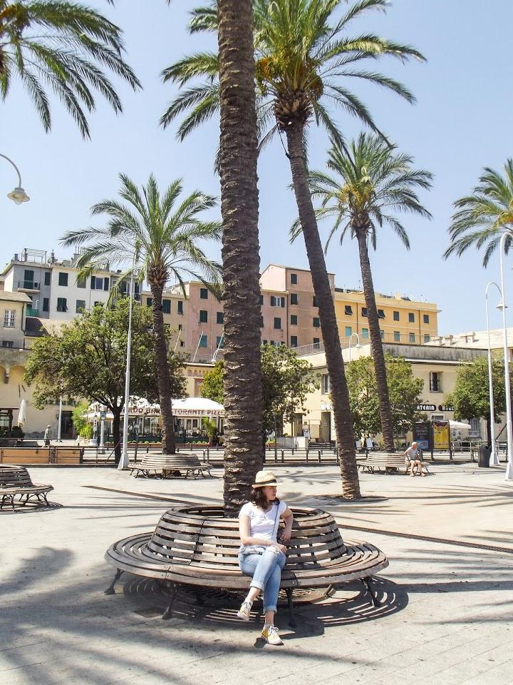 Šetalište duž moderno uređene đenovljanske luke Porto Antico