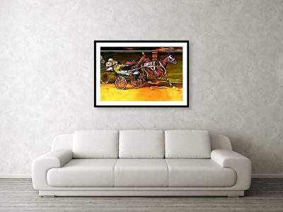 Travel Art: Framed Print on the Wall for Home Decor
