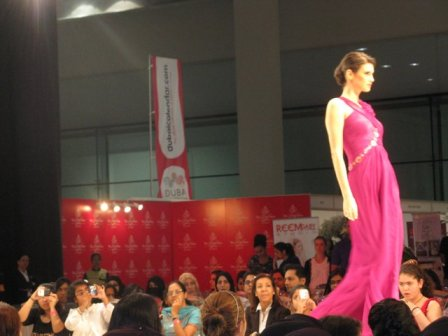 Fashion shows running at regularly intervals.